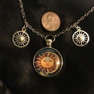 "Sun Dance Necklace 19"""